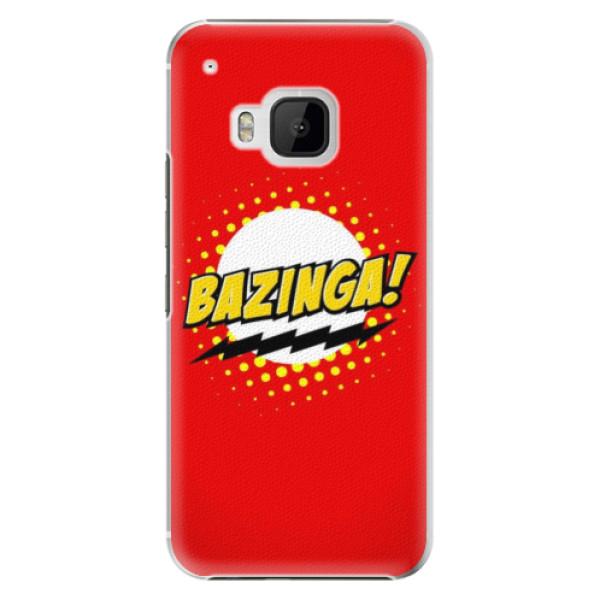 Plastové pouzdro iSaprio Bazinga 01 na mobil HTC One M9 (Plastový obal, kryt, pouzdro iSaprio Bazinga 01 na mobilní telefon HTC One M9)