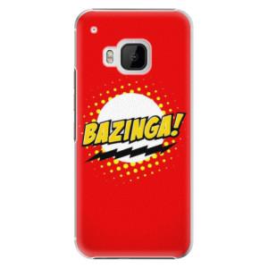 Plastové pouzdro iSaprio Bazinga 01 na mobil HTC One M9