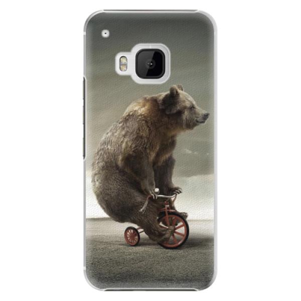 Plastové pouzdro iSaprio Bear 01 na mobil HTC One M9 (Plastový obal, kryt, pouzdro iSaprio Bear 01 na mobilní telefon HTC One M9)
