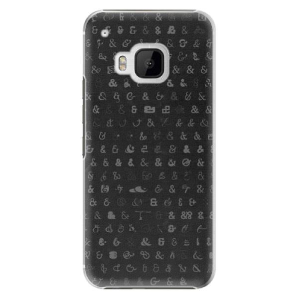 Plastové pouzdro iSaprio Ampersand 01 na mobil HTC One M9 (Plastový obal, kryt, pouzdro iSaprio Ampersand 01 na mobilní telefon HTC One M9)