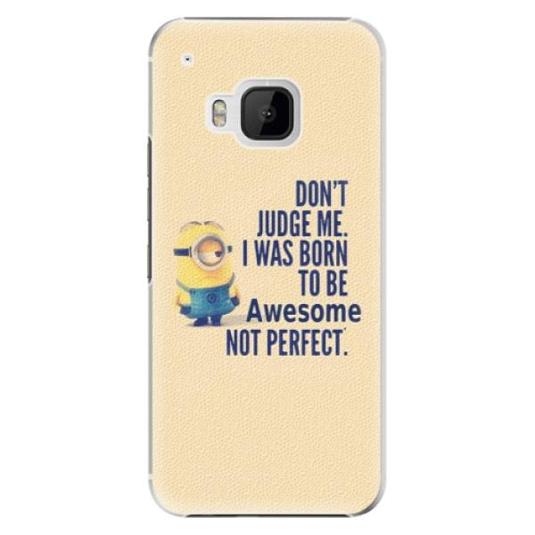 Plastové pouzdro iSaprio Be Awesome na mobil HTC One M9 (Plastový obal, kryt, pouzdro iSaprio Be Awesome na mobilní telefon HTC One M9)