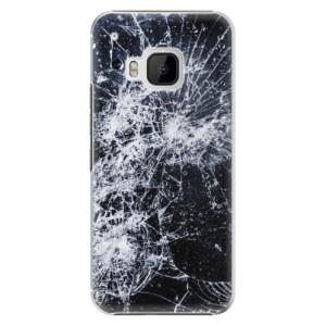 Plastové pouzdro iSaprio Cracked na mobil HTC One M9