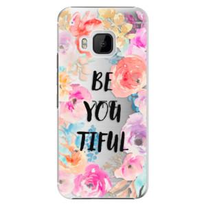 Plastové pouzdro iSaprio BeYouTiful na mobil HTC One M9