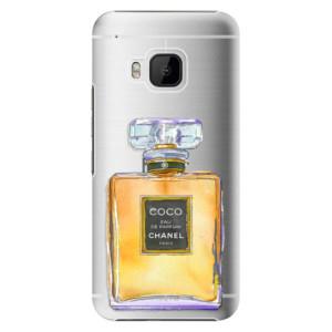 Plastové pouzdro iSaprio Chanel Gold na mobil HTC One M9
