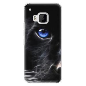 Plastové pouzdro iSaprio Black Puma na mobil HTC One M9