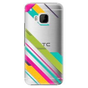 Plastové pouzdro iSaprio Color Stripes 03 na mobil HTC One M9