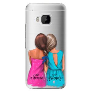 Plastové pouzdro iSaprio Best Friends na mobil HTC One M9