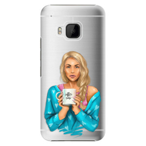 Plastové pouzdro iSaprio Coffe Now Blond na mobil HTC One M9