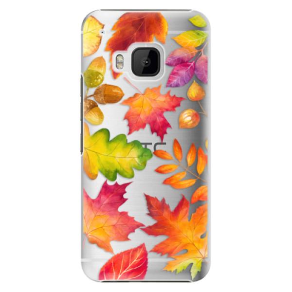 Plastové pouzdro iSaprio Autumn Leaves 01 na mobil HTC One M9 (Plastový obal, kryt, pouzdro iSaprio Autumn Leaves 01 na mobilní telefon HTC One M9)