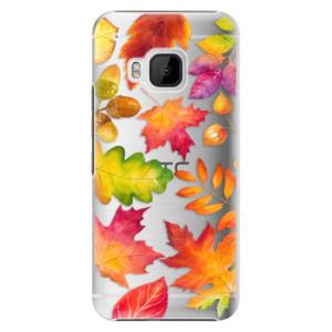 Plastové pouzdro iSaprio Autumn Leaves 01 na mobil HTC One M9
