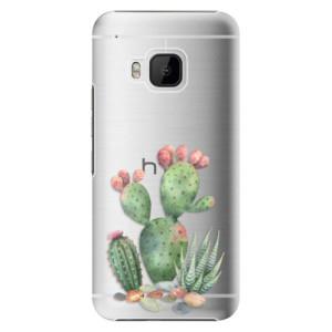 Plastové pouzdro iSaprio Cacti 01 na mobil HTC One M9