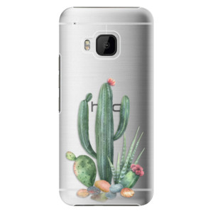 Plastové pouzdro iSaprio Cacti 02 na mobil HTC One M9