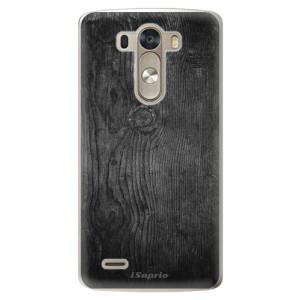 Plastové pouzdro iSaprio Black Wood 13 na mobil LG G3 (D855)