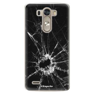 Plastové pouzdro iSaprio Broken Glass 10 na mobil LG G3 (D855)