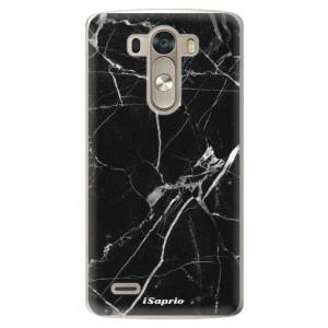 Plastové pouzdro iSaprio Black Marble 18 na mobil LG G3 (D855)