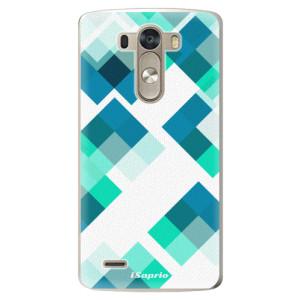 Plastové pouzdro iSaprio Abstract Squares 11 na mobil LG G3 (D855)