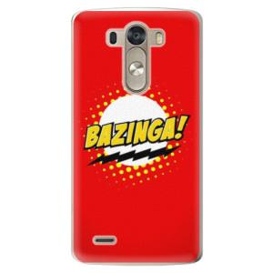 Plastové pouzdro iSaprio Bazinga 01 na mobil LG G3 (D855)