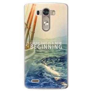 Plastové pouzdro iSaprio Beginning na mobil LG G3 (D855)
