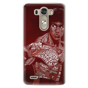 Plastové pouzdro iSaprio Bruce Lee na mobil LG G3 (D855)