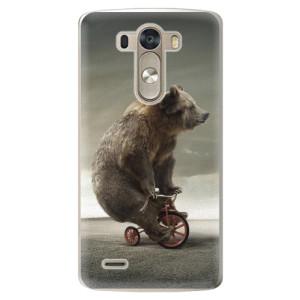 Plastové pouzdro iSaprio Bear 01 na mobil LG G3 (D855)