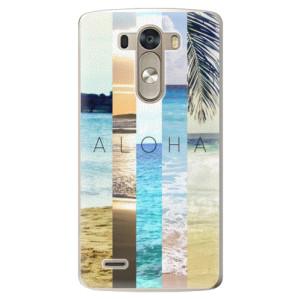 Plastové pouzdro iSaprio Aloha 02 na mobil LG G3 (D855)
