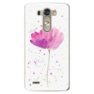 Plastové pouzdro iSaprio Poppies na mobil LG G3 (D855)