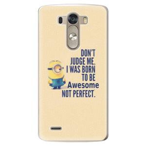 Plastové pouzdro iSaprio Be Awesome na mobil LG G3 (D855)