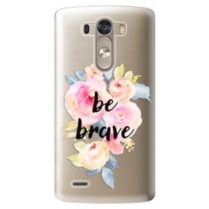 Plastové pouzdro iSaprio Be Brave na mobil LG G3 (D855)