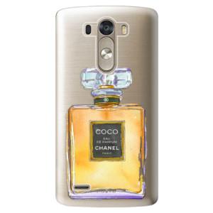 Plastové pouzdro iSaprio Chanel Gold na mobil LG G3 (D855)