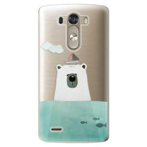 Plastové pouzdro iSaprio Bear With Boat na mobil LG G3 (D855)