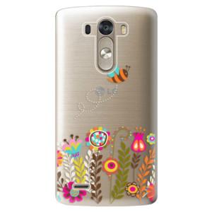 Plastové pouzdro iSaprio Bee 01 na mobil LG G3 (D855)