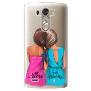 Plastové pouzdro iSaprio Best Friends na mobil LG G3 (D855)