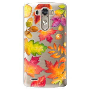 Plastové pouzdro iSaprio Autumn Leaves 01 na mobil LG G3 (D855)