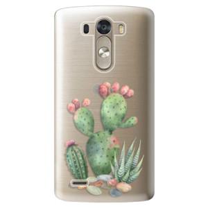 Plastové pouzdro iSaprio Cacti 01 na mobil LG G3 (D855)