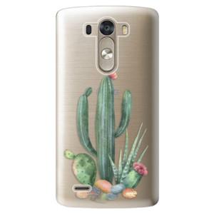 Plastové pouzdro iSaprio Cacti 02 na mobil LG G3 (D855)