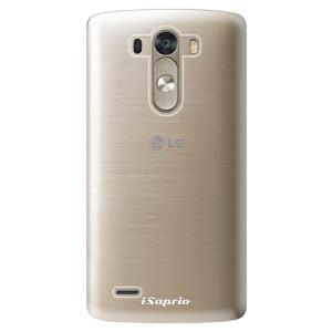 Plastové pouzdro iSaprio 4Pure mléčné bez potisku na mobil LG G3 (D855)