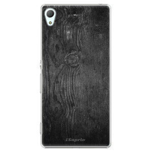Plastové pouzdro iSaprio Black Wood 13 na mobil Sony Xperia Z3+ / Z4