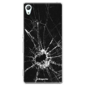 Plastové pouzdro iSaprio Broken Glass 10 na mobil Sony Xperia Z3+ / Z4