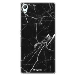 Plastové pouzdro iSaprio Black Marble 18 na mobil Sony Xperia Z3+ / Z4