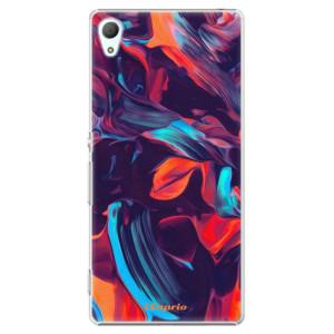 Plastové pouzdro iSaprio Color Marble 19 na mobil Sony Xperia Z3+ / Z4