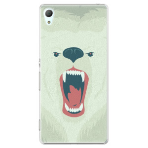 Plastové pouzdro iSaprio Angry Bear na mobil Sony Xperia Z3+ / Z4