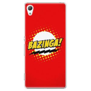 Plastové pouzdro iSaprio Bazinga 01 na mobil Sony Xperia Z3+ / Z4