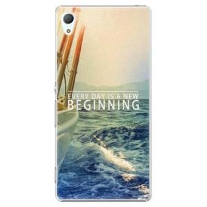 Plastové pouzdro iSaprio Beginning na mobil Sony Xperia Z3+ / Z4