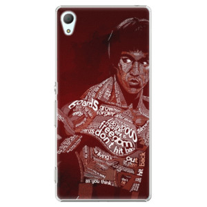 Plastové pouzdro iSaprio Bruce Lee na mobil Sony Xperia Z3+ / Z4