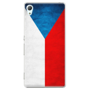 Plastové pouzdro iSaprio Czech Flag na mobil Sony Xperia Z3+ / Z4