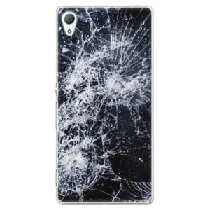 Plastové pouzdro iSaprio Praskliny na mobil Sony Xperia Z3+ / Z4