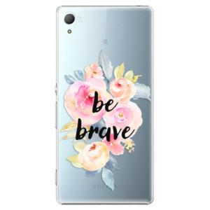 Plastové pouzdro iSaprio Be Brave na mobil Sony Xperia Z3+ / Z4