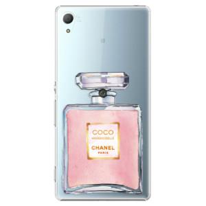 Plastové pouzdro iSaprio Chanel Rose na mobil Sony Xperia Z3+ / Z4