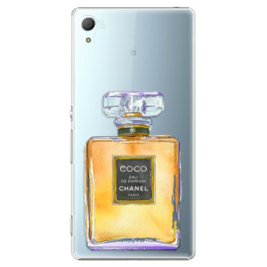 Plastové pouzdro iSaprio Chanel Gold na mobil Sony Xperia Z3+ / Z4