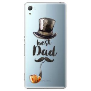 Plastové pouzdro iSaprio Best Dad na mobil Sony Xperia Z3+ / Z4